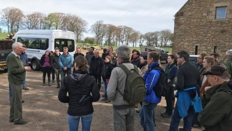Wildlife Estates Scotland hosts Interreg PARTRIDGE meeting